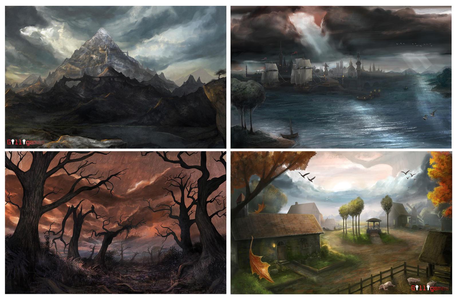 Environments 2 by stevegoad