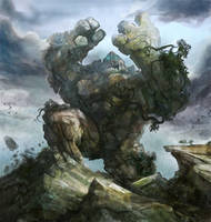 Earth Elemental by stevegoad