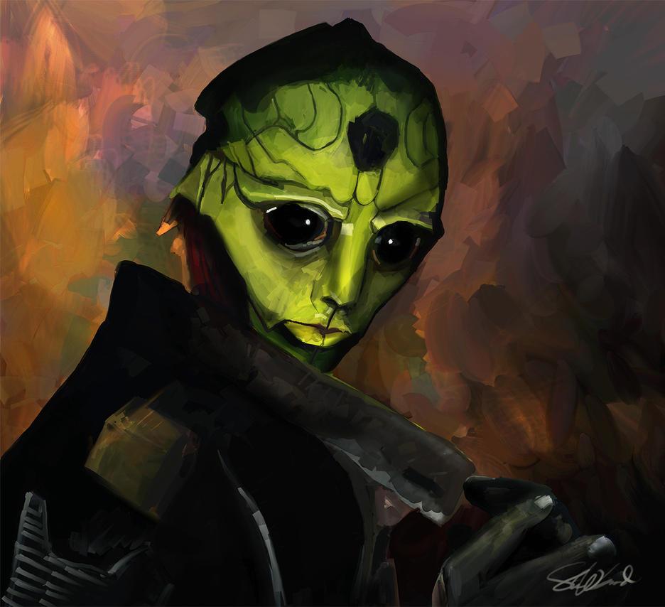 Thane Krios  Fan Art by stevegoad