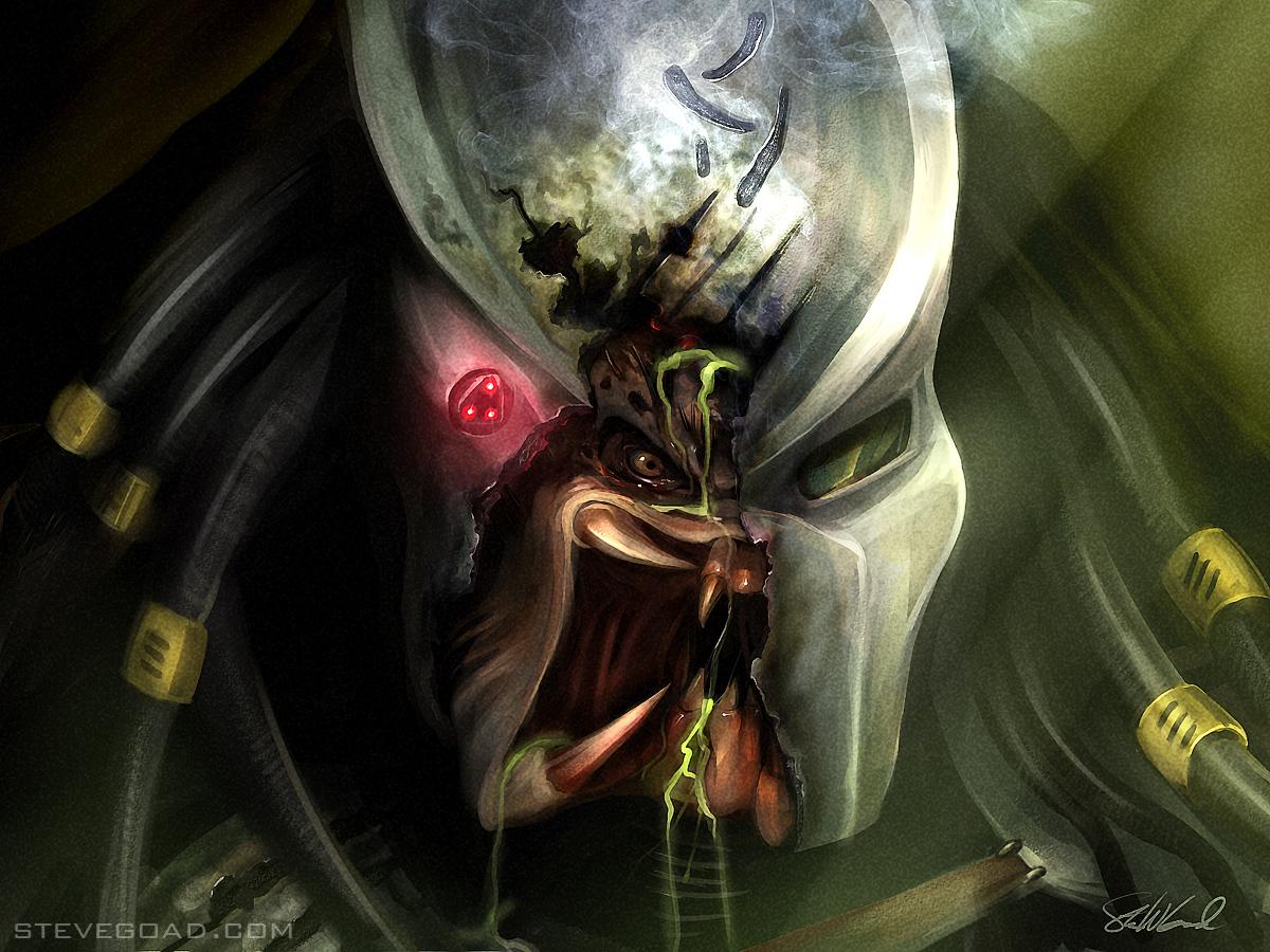 Battle Damage Predator by stevegoad