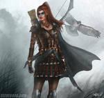 Female Rogue Character Art