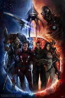 Commission - Mass Effect 2 by stevegoad