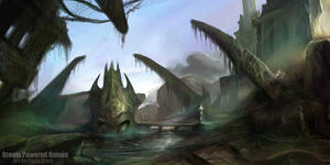 Alien Ruins Concept