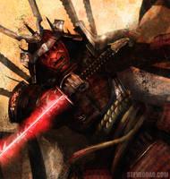 Samurai Boss by stevegoad