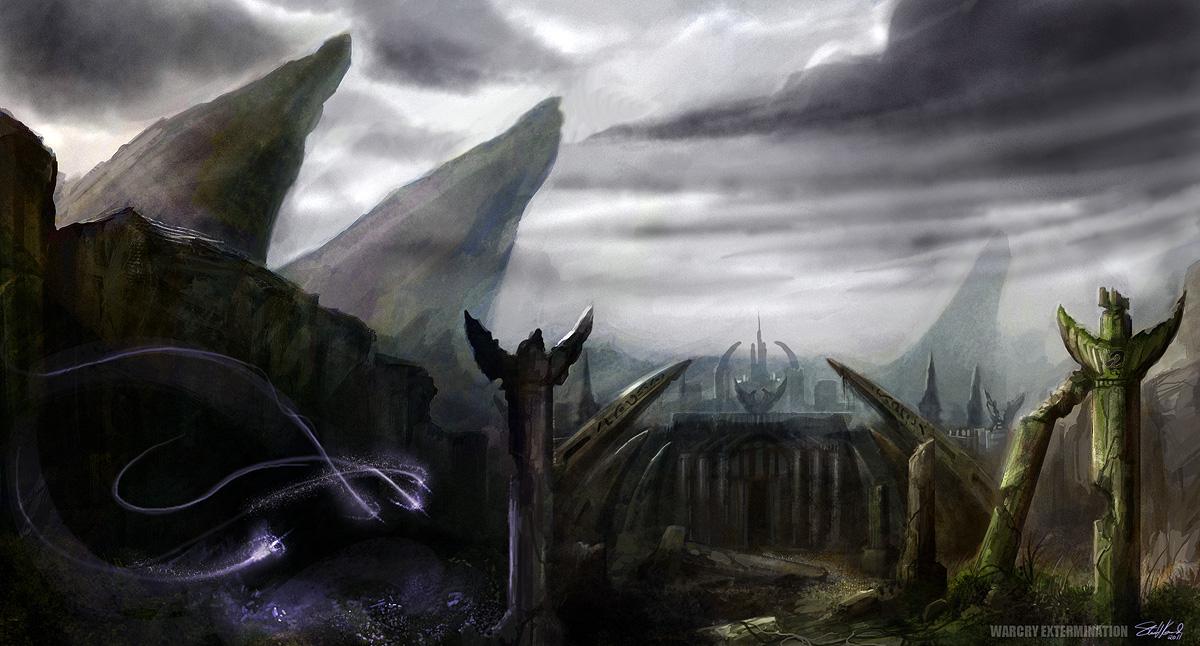 City Gate Concept by stevegoad