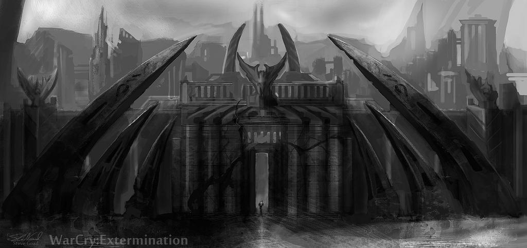 City Gate Concept - up close by stevegoad