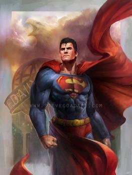 Superman by stevegoad