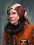 Lori the Astronaut by stevegoad
