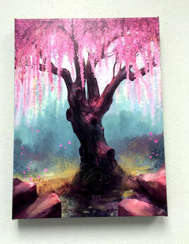 Ode To Spring on Canvas - Customer showcase