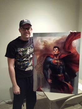 Man of Steel art print - Customer Showcase
