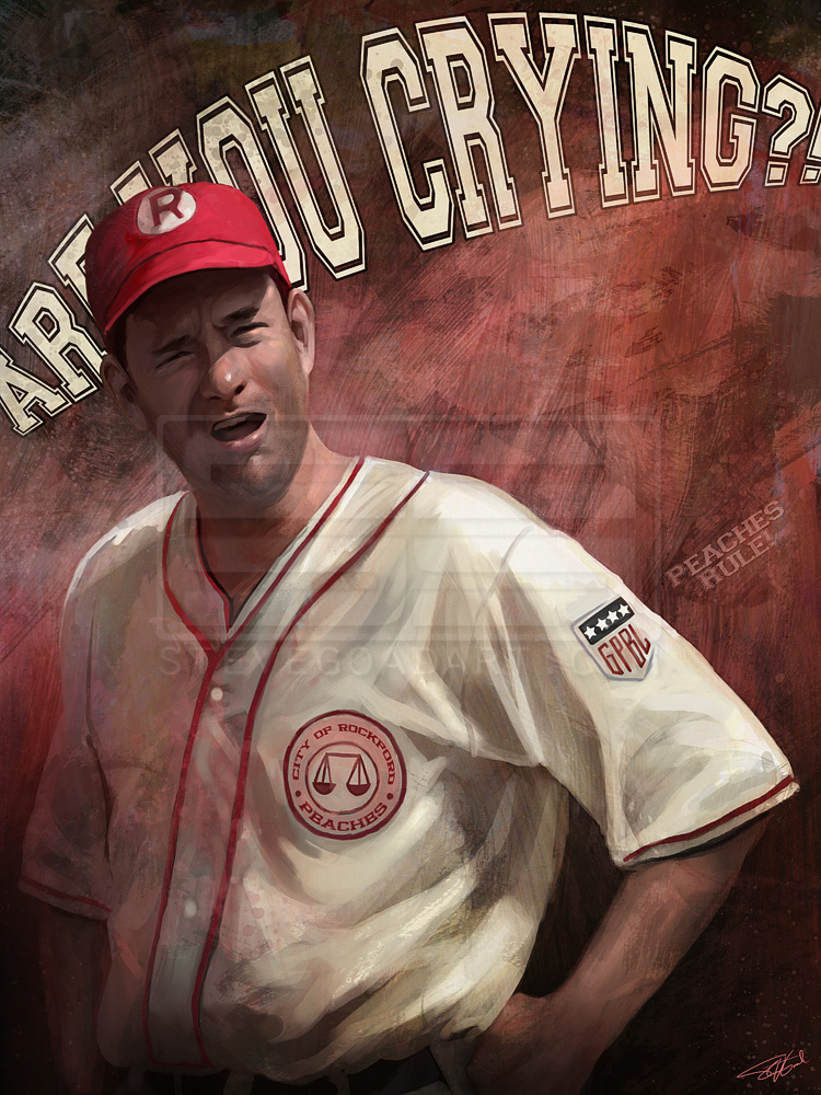 No Crying In Baseball by stevegoad