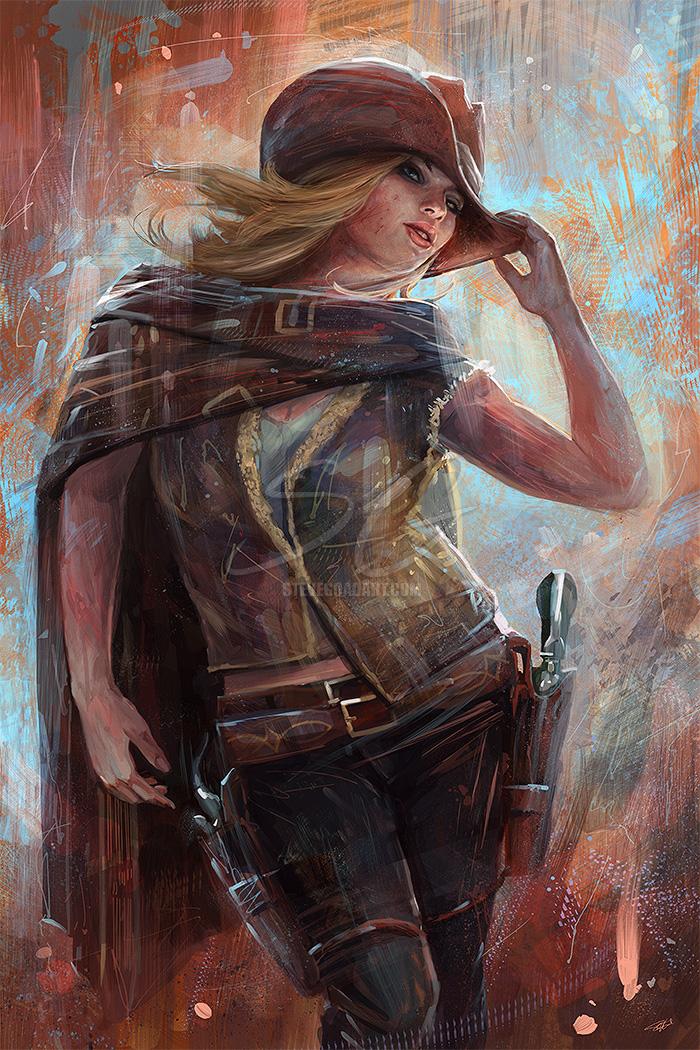 Sexy Lady Gunslingers 68