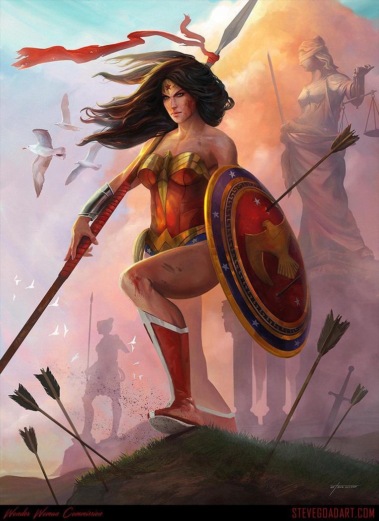 Wonder Woman Commission by stevegoad