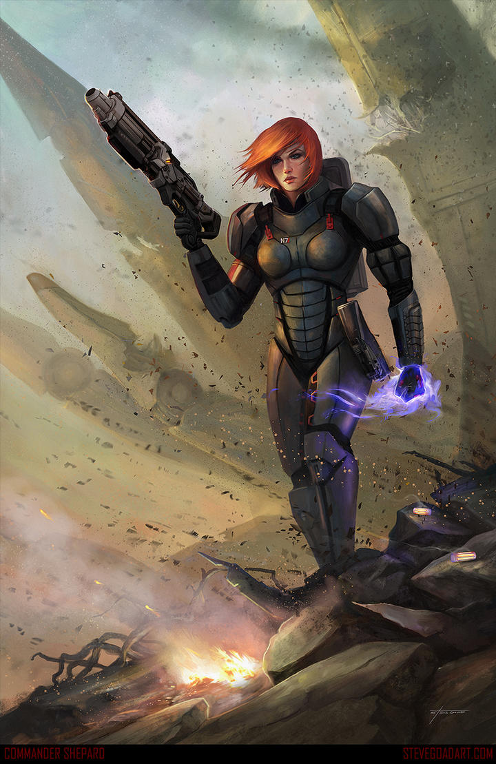Commander Shepard by stevegoad