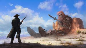Giants in the Land by stevegoad