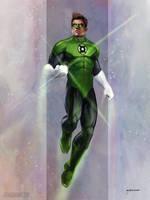 Green Lantern by stevegoad