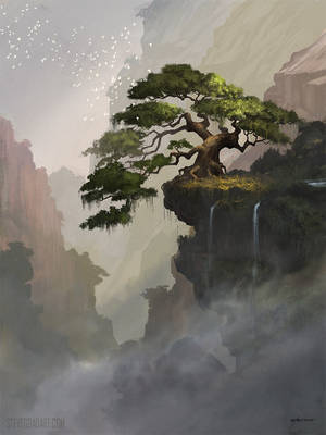 Fantasy Tree by stevegoad