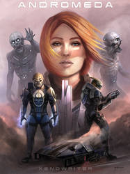 Andromeda Series  Cover Art by stevegoad