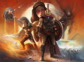 Spiritual Warfare by stevegoad
