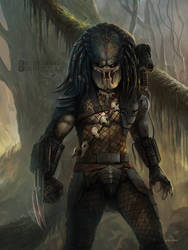 Predator Commission by stevegoad
