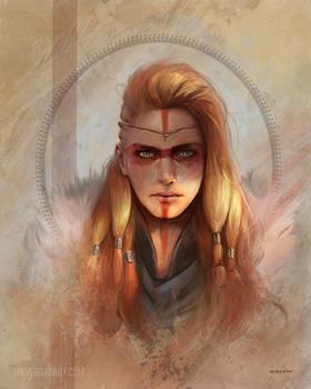 Viking Portrait - Woman