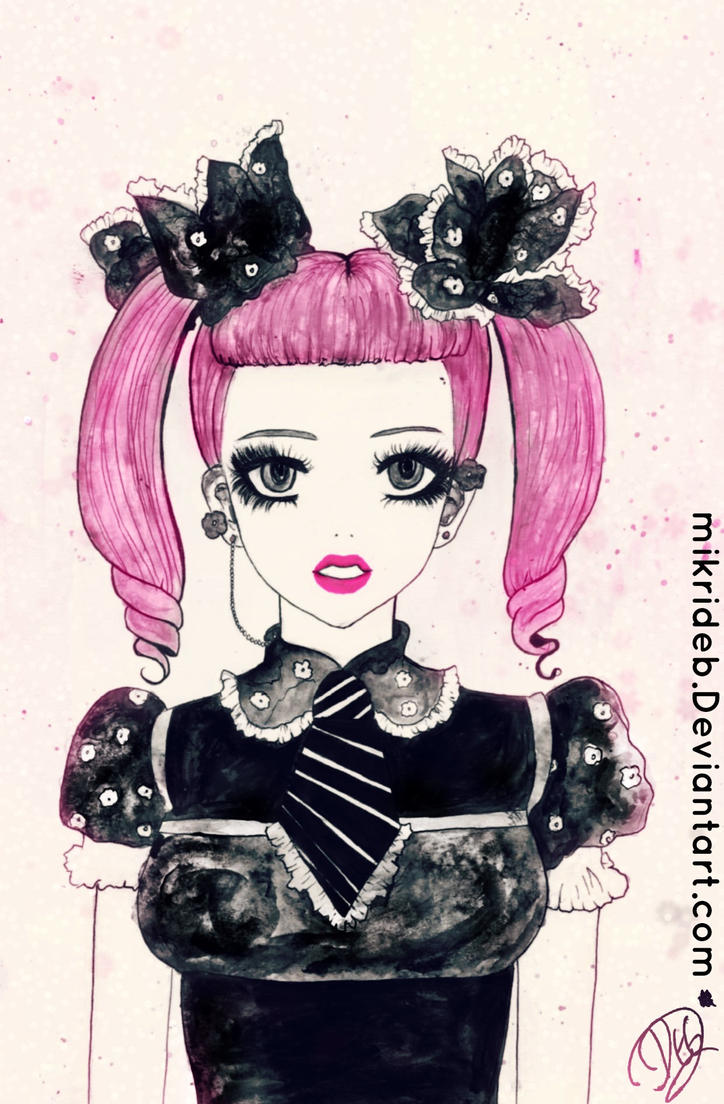 I'm a doll, I'm Flawless by mikriDeb