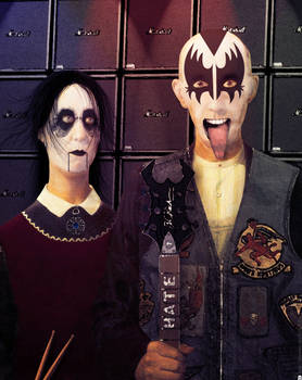 Metal American gothic