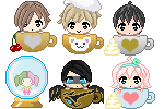 Pixel Icon comm Bunch by PennyGEM