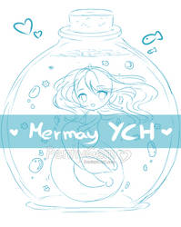 Mermay in bottle YCH ~ Auction: CLOSED