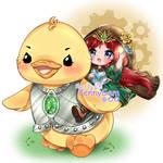 [C] Duck, feya - Attack Mode