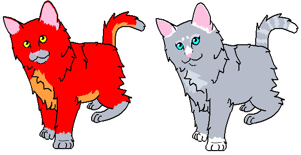 Kittens for Redpheonix0701 by emberstarfireclan