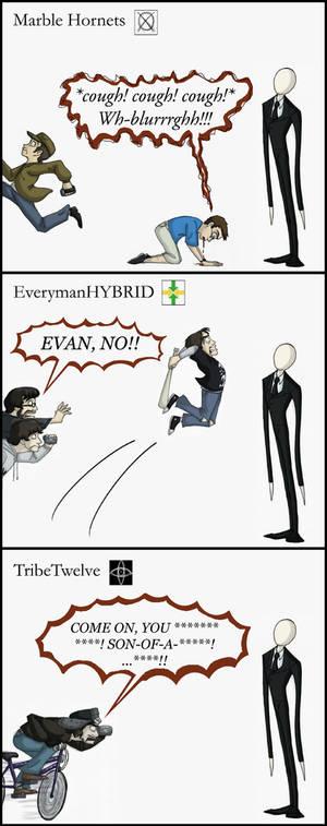 The Slender Man Mythos Part One: MH, EMH, TT