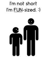 Im Fun Sized by bigfrogplano