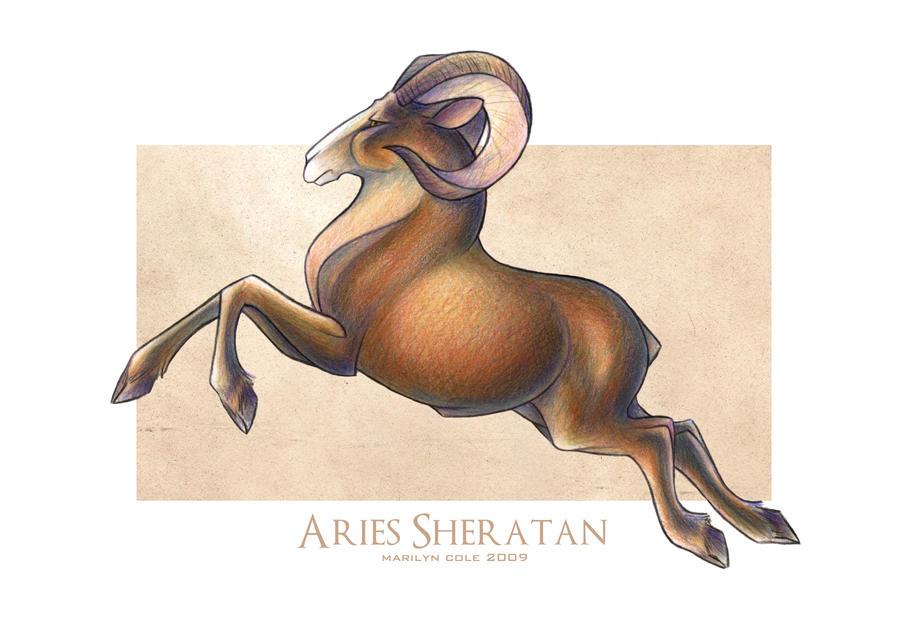 Aries Sheratan of Mars by Katmomma