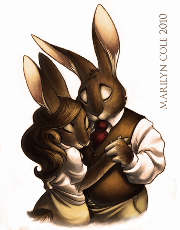A Couple's Dance by Katmomma