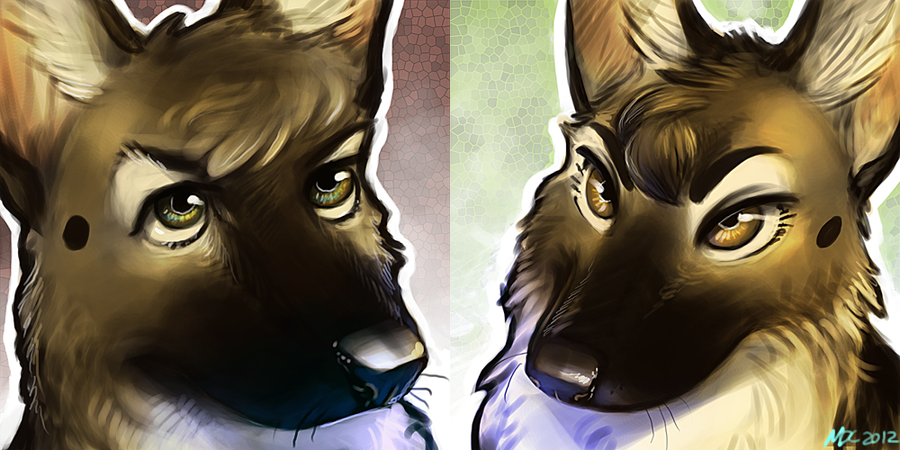 Sheppy Portraits by Katmomma
