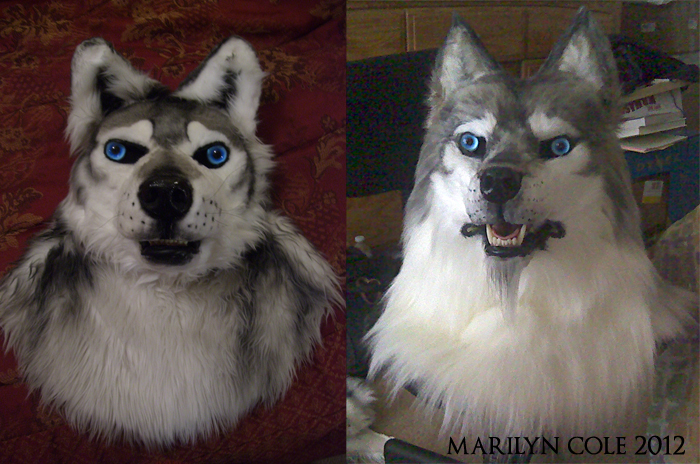 Mask Restoration: Strider Wolf by Katmomma