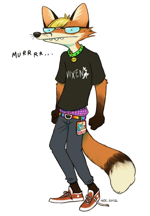 Sexy Foxboi by Katmomma