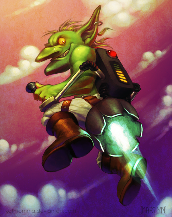 Goblin Personal Afterburner by Katmomma