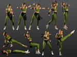 Sonya HD Sprites 01