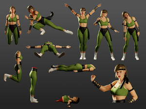 Sonya HD Sprites 02