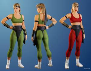 Sonya Blade - Mortal kombat