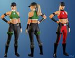 Sonya Blade - Mortal Kombat 4