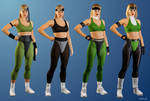Sonya Blade - Other attires...
