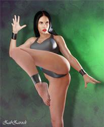 Kai Ti from Body Blows Galactic