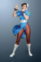 Chun Li - SFIII win pose