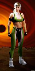 Sonya Blade - MK3 (Bio screen)