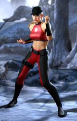 Sonya Blade - MK4 alernate