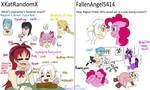 Ask Us Anything #2 and #4 by SwaggBunny