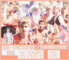 Kris (EXO) - PACK PNG #02 by JeffvinyTwilight